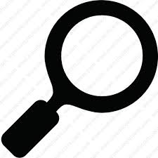 Much clearer vision with magnifying glass